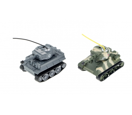 MonsterTronic 2x Mini RC Tank komplekts radiovadāms modelis