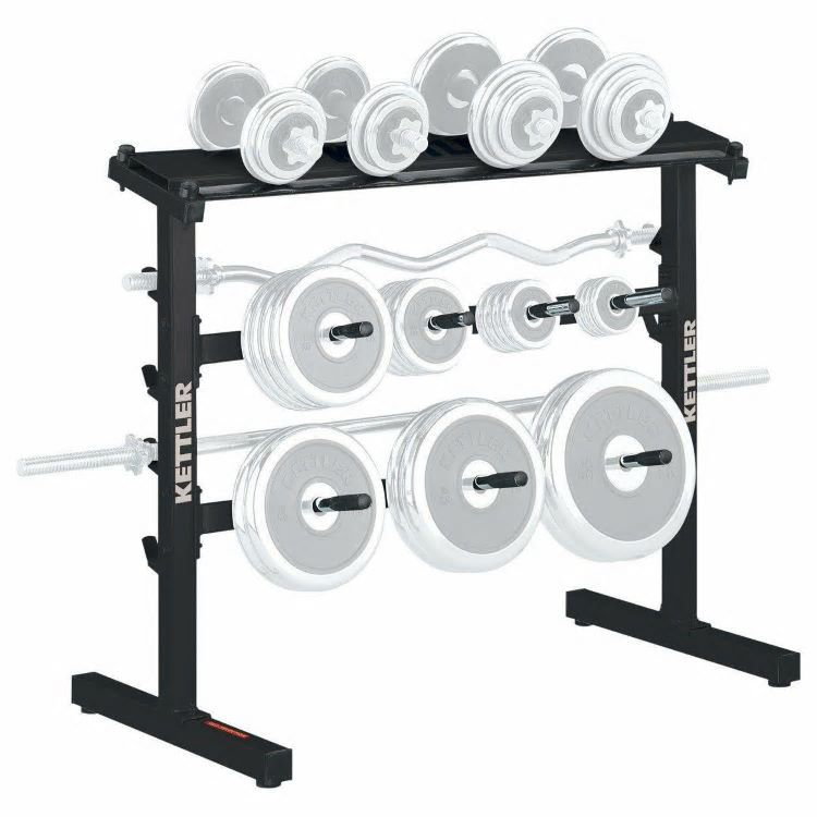 Kettler Weight And Disc Stand hanteļu un disku stends