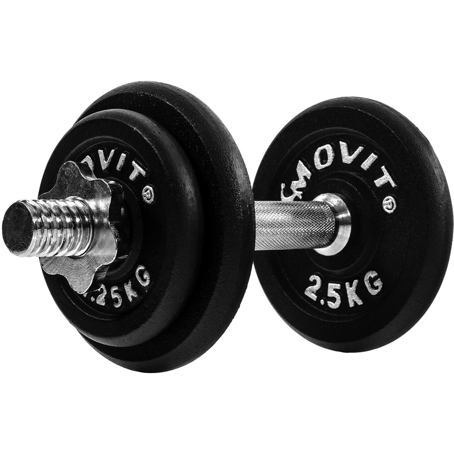 Movit 10kg Profi Dumbbell Set hantele