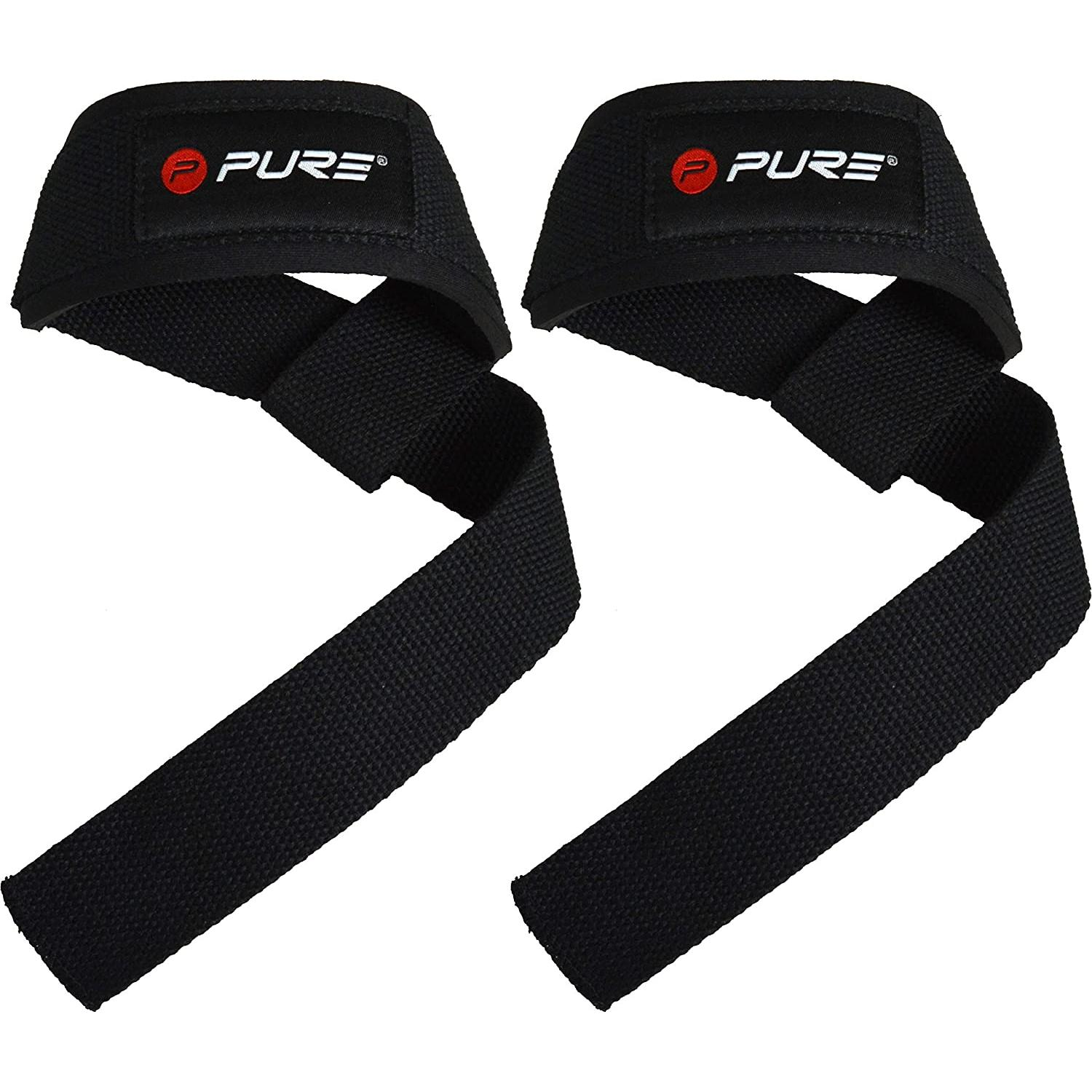 Pure 2 Improve Weight Lifting Straps svarcelšanas saites