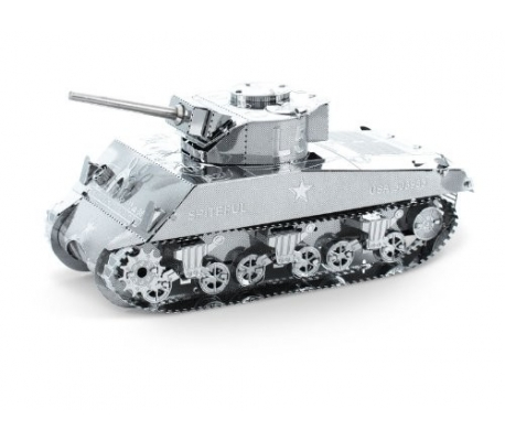 Metal Earth Sherman tank konstruktors