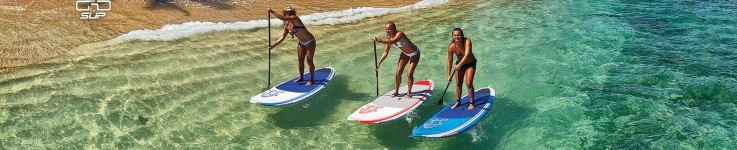 SUP paddle boards